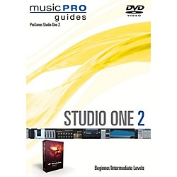 Hal Leonard Studio One 2 Beginner/Intermediate Level Music Pro Guide Series DVD (321293)
