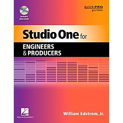 Hal Leonard Studio One For Engineers & Producers  Quick Pro Guides Series Book/DVD-ROM (333875)