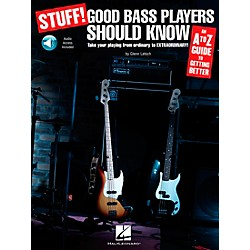 Hal Leonard Stuff! Good Bass Players Should Know - An A-Z Guide To Getting Better (Book/CD) (696014)