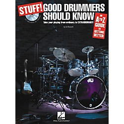 Hal Leonard Stuff! Good Drummers Should Know (Book/CD) (6620108)
