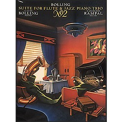 Hal Leonard Suite For Flute & Jazz Piano Trio #2 (356321)