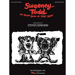 Hal Leonard Sweeney Todd Vocal Selections (313444)