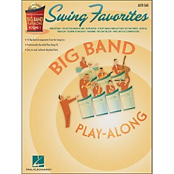 Hal Leonard Swing Favorites Big Band Play-Along Vol. 1 Alto Sax Book/CD (7011313)