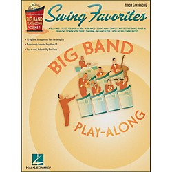 Hal Leonard Swing Favorites Big Band Play-Along Vol. 1 Tenor Sax Book/CD (7011314)