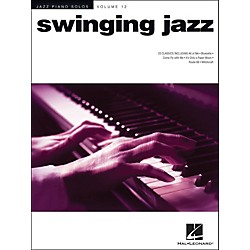 Hal Leonard Swinging Jazz - Jazz Piano Solos Series Volume 12 (311797)