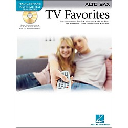 Hal Leonard TV Favorites For Alto Sax Book/CD (842081)