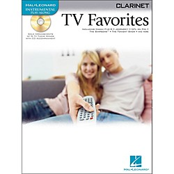Hal Leonard TV Favorites For Clarinet Book/CD (842080)