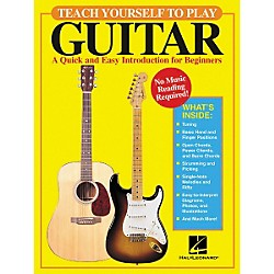 Hal Leonard Teach Yourself to Play Guitar Book (695786)