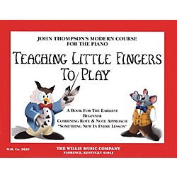 Hal Leonard Teaching Little Fingers To Play Piano Book (412076)