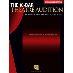 Hal Leonard The 16-Bar Theatre Audition Belter (Mezzo Soprano) (740254)