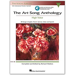 Hal Leonard The Art Song Anthology - High Voice Book With 3 CD's (230033)