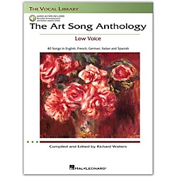 Hal Leonard The Art Song Anthology For Low Voice Book With 3 CD's (230034)