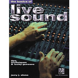Hal Leonard The Basics of Live Sound Book (330779)