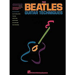 Hal Leonard The Beatles Guitar Techniques Book (660105)