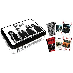 Hal Leonard The Beatles Playing Cards 2-Deck Set Gift Tin (114581)