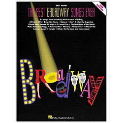 Hal Leonard The Best Broadway Songs Ever Second Edition For Easy Piano (300178)