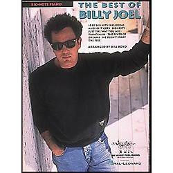 Hal Leonard The Best Of Billy Joel For Big Note Piano (222572)