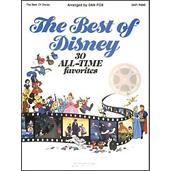 Hal Leonard The Best Of Disney For Easy Piano by Dan Fox (364456)