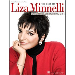 Hal Leonard The Best Of Liza Minnelli - Original Keys For Singers (Vocal / Piano) (306928)
