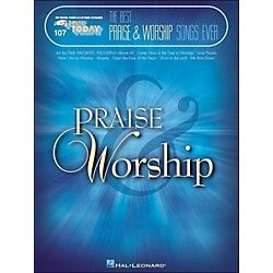 Hal Leonard The Best Praise & Worship Songs Ever E-Z Play 107 (100256)