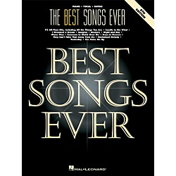 Hal Leonard The Best Songs Ever - 8th Edition Piano, Vocal, Guitar Songbook (359224)