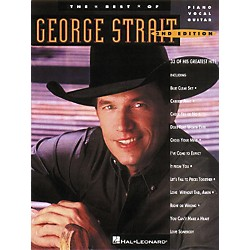 Hal Leonard The Best of George Strait Piano, Vocal, Guitar Songbook (358208)