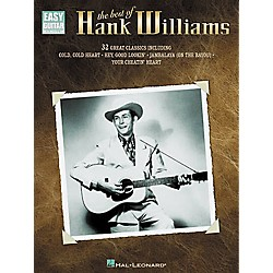Hal Leonard The Best of Hank Williams Easy Guitar Tab Book (702123)
