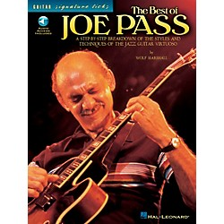 Hal Leonard The Best of Joe Pass Guitar Signature Licks Book with CD (695730)
