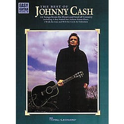 Hal Leonard The Best of Johnny Cash Easy Guitar Tab Book (702043)