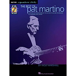 Hal Leonard The Best of Pat Martino Guitar Signature Licks Book with CD (695632)
