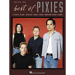 Hal Leonard The Best of the Pixies Piano, Vocal, Guitar Book (306875)