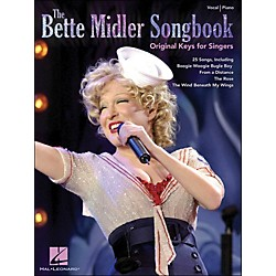Hal Leonard The Bette Midler Songbook Original Keys For Singers (307067)