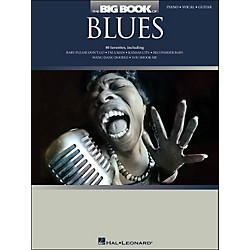 Hal Leonard The Big Book Of Blues arranged for piano, vocal, and guitar (P/V/G) (311843)
