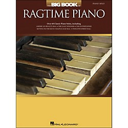 Hal Leonard The Big Book Of Ragtime Piano - arranged for piano solo (311749)