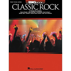 Hal Leonard The Big Book of Classic Rock Piano, Vocal, Guitar Songbook (310801)