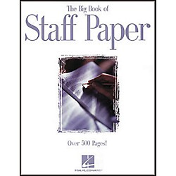 Hal Leonard The Big Book of Staff Paper Book (210045)