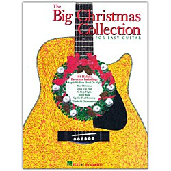 Hal Leonard The Big Christmas Collection Easy Guitar Tab Songbook (698978)