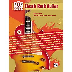 Hal Leonard The Big Easy Book of Classic Rock Guitar Tab (322179)