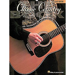 Hal Leonard The Classic Country Book - Guitar Songbook (702018)