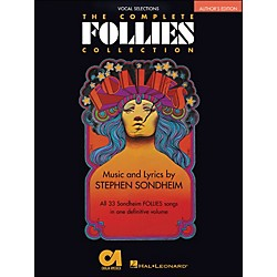 Hal Leonard The Complete Follies Collection Vocal Selections Authors Edition arranged for piano, vocal, and guit (313306)
