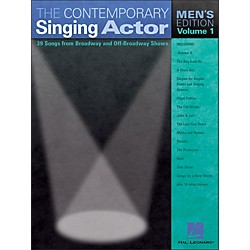 Hal Leonard The Contemporary Singing Actor - Men's Edition Volume 1 (740194)