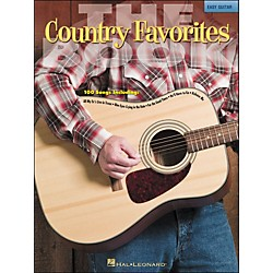 Hal Leonard The Country Favorites Book - Easy Guitar (No Tab) (702238)