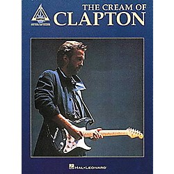 Hal Leonard The Cream of Clapton Guitar Tab Book (690074)
