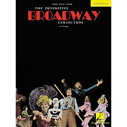 Hal Leonard The Definitive Broadway Collection Songbook - Second Edition (Piano, Vocal, Guitar) (359570)