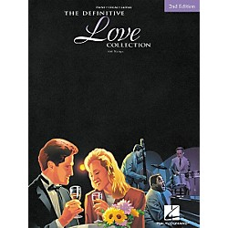 Hal Leonard The Definitive Love Collection 2nd Edition Piano, Vocal, Guitar Songbook (311681)