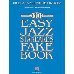 Hal Leonard The Easy Jazz Standards Fake Book - 100 Songs In The Key Of C (102346)