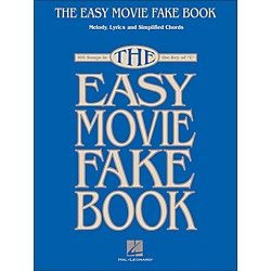 Hal Leonard The Easy Movie Fake Book - 100 Songs In The Key Of C (240295)