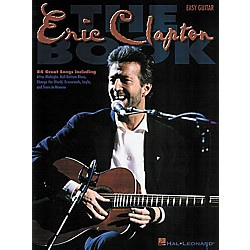 Hal Leonard The Eric Clapton Guitar Tab Book (702056)