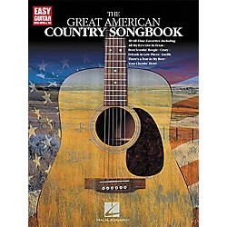 Hal Leonard The Great American Country Easy Guitar Tab Book (702160)
