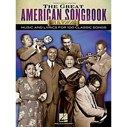 Hal Leonard The Great American Songbook - Jazz for Piano/Vocal/Guitar Songbook (110387)